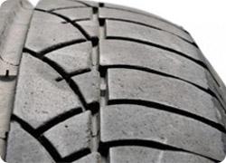 Desgaste de un neumático