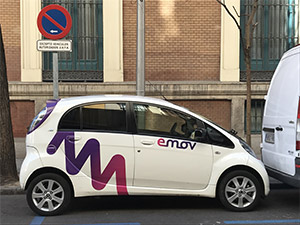 Carsharing Madrid Central
