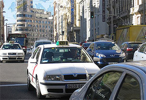 Taxis y VTC Madrid Central
