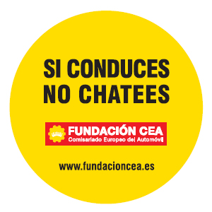 Si conduces no chatees