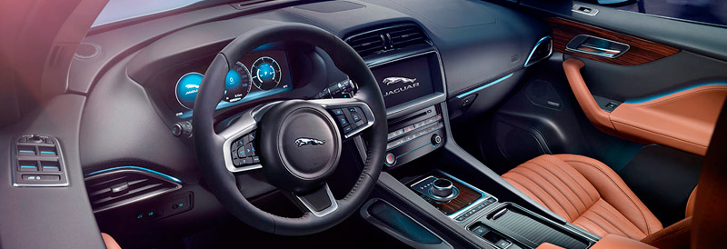 Interior Jaguar F-PACE