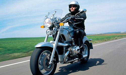 Conducción en moto