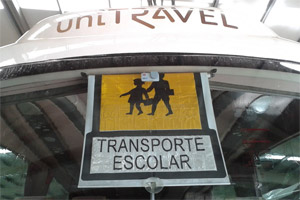 Indicativo de transporte escolar