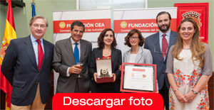 La Fundación CEA premia a Cerveceros de España por su campaña La carretera te pide SIN