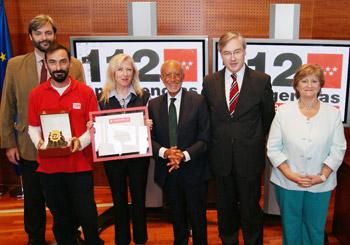 Fundación CEA premia al servicio Emergencias 112 de la Comunidad de Madrid