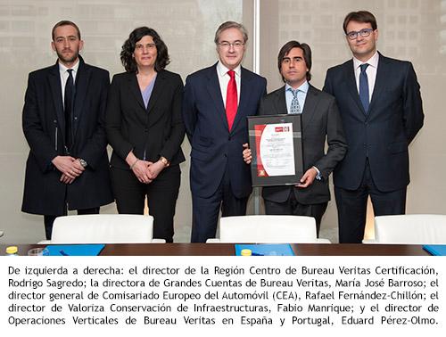 Cea comisariado europeo del autom vil - Bureau veritas espana ...
