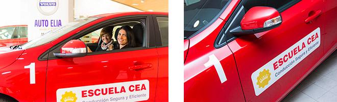 VOLVO será el coche oficial de la Escuela CEA de Conducción