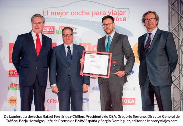Premio El Mejor Coche para Viajar 2018